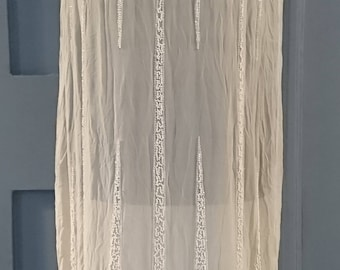 Sublime 1920s Art Deco ' Icicle ' Beaded Silk Flapper Dress - True Vintage Fashion