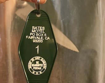 Bates Motel Key Fob
