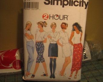 Boss Simplicity 7259 / pants - skirt size women: 4-8 years