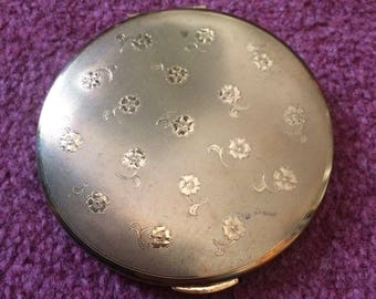 1960s powder compact and mirror by Kiga