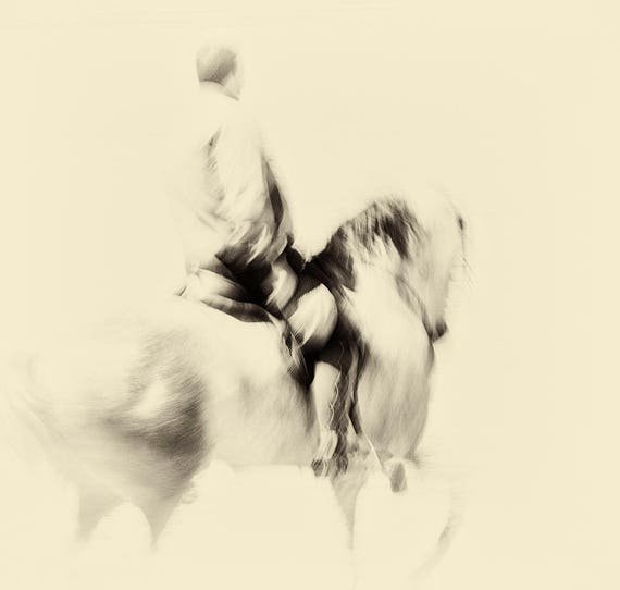 "Horse Prints, ""THE SPANISH RIDER"". Horse Photography, Equine Print, Square Print, Spanish Print, Fine Art photography, Spanish Horse"