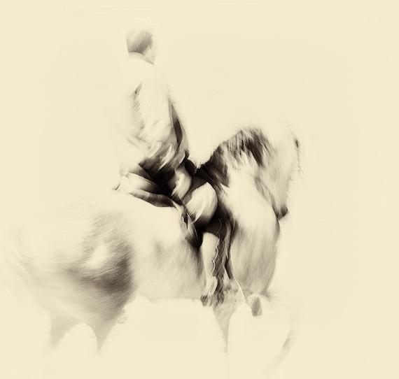"Horse Prints, ""THE SPANISH RIDER"". Horse Photography, Equine Print, Square Print, Spanish Print, Fine Art photography, Spanish Horse"