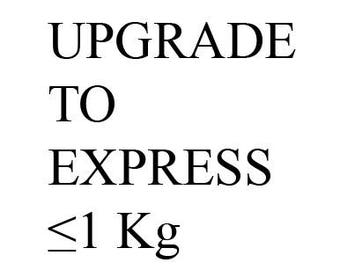 Upgrade to Express shipping(≤1 kg)