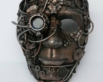 steampunk  Bionic eye mask,