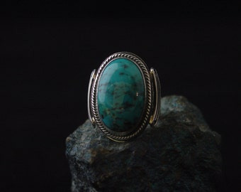 Sterling Silver Chrysocolla Ring ... Made to Order
