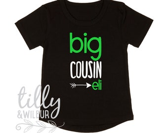 Personalised Big Cousin T-Shirt For Boys