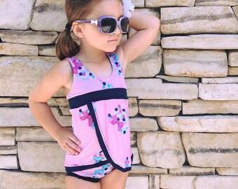 Swimmy Suit with Tankini, bikini, petal skirt, shorts, and brief options Sizes 3m-14