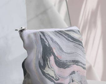 Marbled Pouch Green Tone
