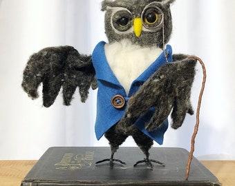 Soft sculpture Owl.