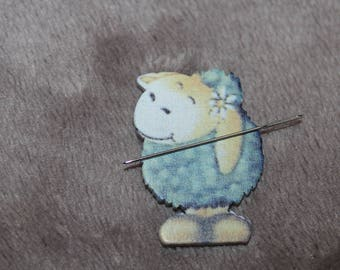 Sheep needle magnet