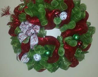 Jingle Bells Christmas Wreath