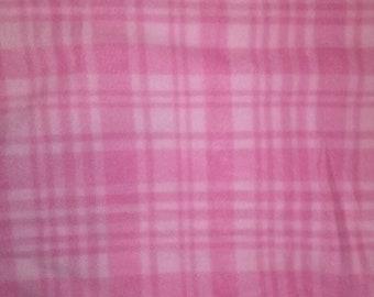 Plaid Pink Fleece