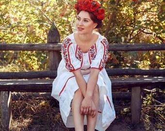 handmade folk dress