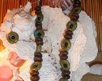 Hawaiian Rainforest Necklace