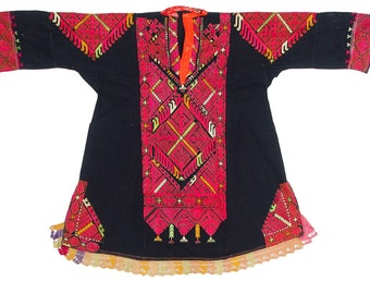 antique Traditional swat-vally Pakistan dress Late 19th or early 20th century no:17/1