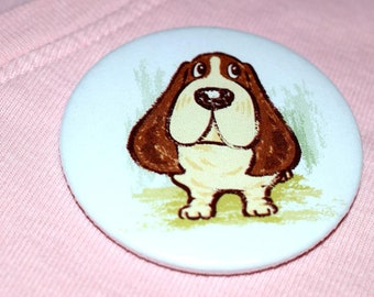 Bassett Hound Badge