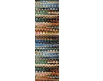 Peyote Bracelet Pattern Daggers of Color