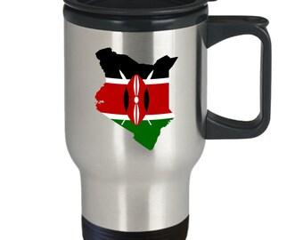 Kenya travel mug - coffee tea cup