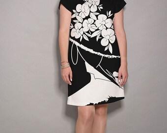 Black dress, white dresses for women, casual dresses, womens party dress, women dresses, black and white dress, elegant dress, pocket dress