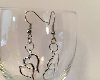 Entwined Hearts Earrings