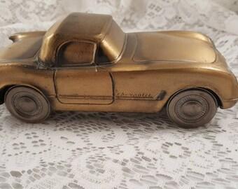 Vintage metal 1953 Chevrolet Corvette collectible