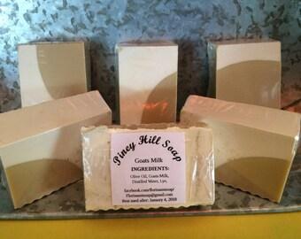 Handmade Goats Milk & Olive Oil Soap