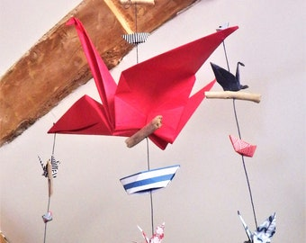 Mobile origami and Driftwood