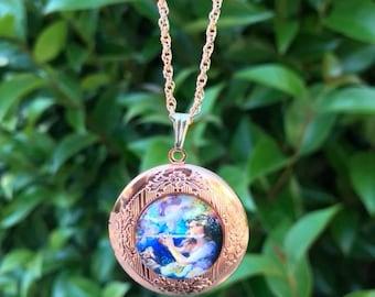 Locket Gift For Women in Rose Gold