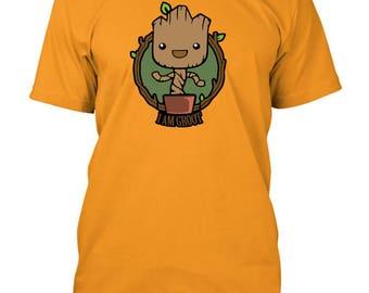 Guardians Of The Galaxy Baby Groot ich bin Groot inspiriert T-Shirt f90e53c172
