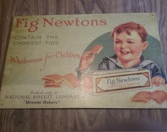 National Biscuit Uneeda backery  Fig Newtown  sign