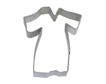 Graduation Gown Cookie Cutter, graduate or choir  robe cookie cutter, minister robe cookie cutter,