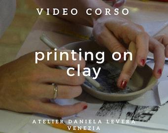 tutoriel vidéo pour l'impression sur de l'argile