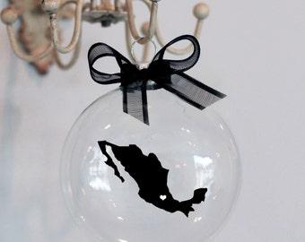 Mexico Christmas Ornament, Custom, Travel, Mission, Adoption