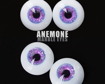 Marble Eyes Anemone 14mm [IN-STOCK] Enchanted Doll Eyes