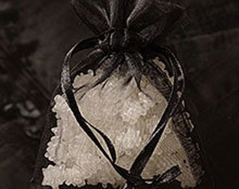 Black Organza Bag Tulle Party Wedding Favor Treat Bag 4 x 6 Packaging Gift Supply Quantity 10