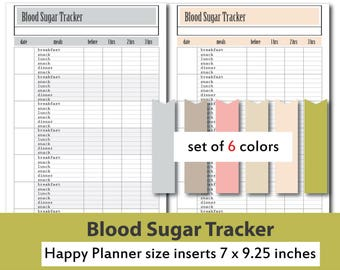 blood sugar tracker