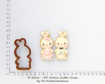 Cute Bunny Cookie Cutter