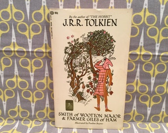 Smith Of Wootton Major and Farmer Giles of Ham by JRR Tolkien Paperback Book Vintage