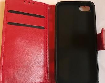 Iphone 5 book case, iphone 5c book case, iphone 5s book case and iphone 5se book case