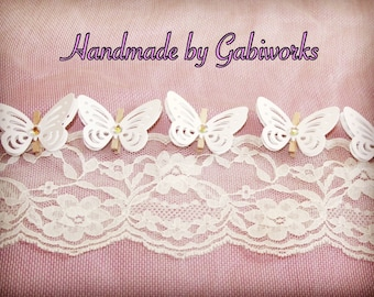 Small Pegs 20 pcs./ White Butterflies PEGS/Wooden Pegs/ White Pegs/ Wedding Pegs/Rustic Party Pegs/ Butterflies mini Pegs/