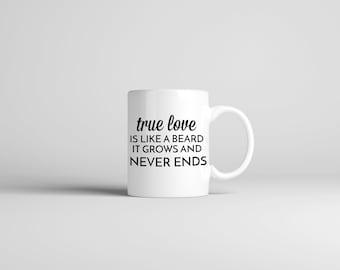 True Love Beard Mug