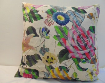 Designers Guild & Christian Lacroix Malmaison Natural-Argile Cushion Cover D1