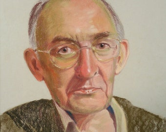 Bespoke Pastel Portrait of Your Loved One