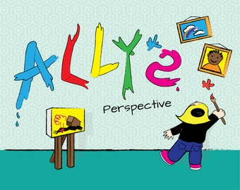 Books, Ally's Perspective, Children's Book, Original Story: About a little girl who paints the world differently.