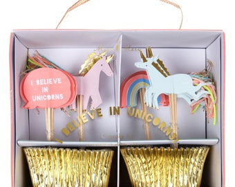 Rainbows & Unicorns Cupcake Kit