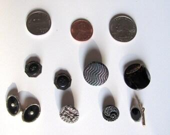 Antique Victorian Buttons 1800s 1900s