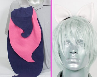 Bon Bon Adjustable Ears and/or Tail - buy as a set or separate! Costume sized for Kids or Adults