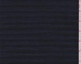 Indigo Denim Look Quilted Jacketing, Fabric By The Yard
