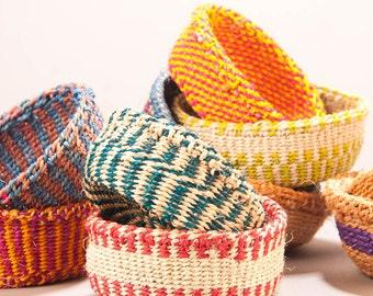 Mini Kidogo Sisal Baskets