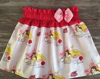 Beauty And The Beast Skirt, Belle Skirt, Beauty And The Beast Belle Skirt